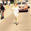 Pan Am torch run
